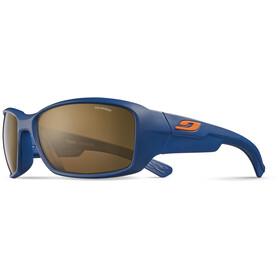 Julbo Whoops Polarized 3 Sunglasses Matt Blue-Brown